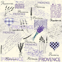 Vintage Grunge Pattern In Retro Scrapbook Style.