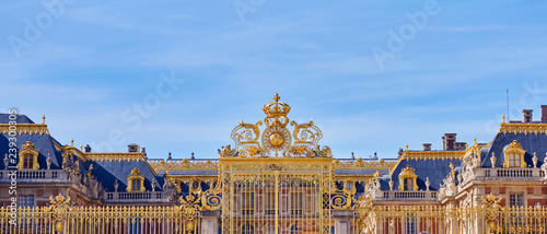 Foto op Canvas Oude gebouw Golden Entrance Gates