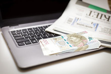 Biznes - Plik Banknotów 500 P...
