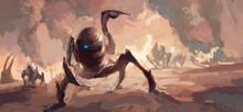 Terrorist Scenes Of Alien Inva...