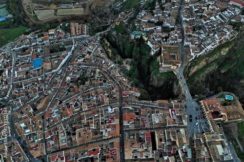 Photo Stands New York Spanien aus der Luft