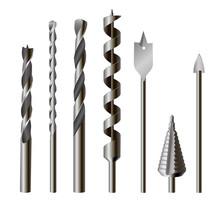 Metallic Drill Bits, Equipment And Tool Set