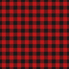 Red Lumberjack Pattern.