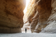 Tourist In Narrow Passage Of R...