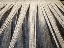 Concept Of Weaving Traditional Tweed Products In Scotland