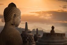 Borobudur Buddhist Temple, Jav...