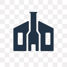 Moot Hall Vector Icon Isolated...