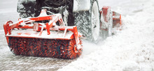 City Service Cleaning Snow , A...