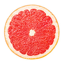 Red Grapefruit, Clipping Path,...