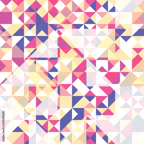 Fotobehang ZigZag Seamless pattern of triangles. Pattern for your textiles and print design.
