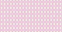 Pink Pattern With Rhombuses And White Dots Stars. Solid Elegante Wedding Backdrop. Element Of Design For Lol Surprise Party. Arabic Girlish Ornate. Premium Luxury Toy Print. Fabric Little Princess