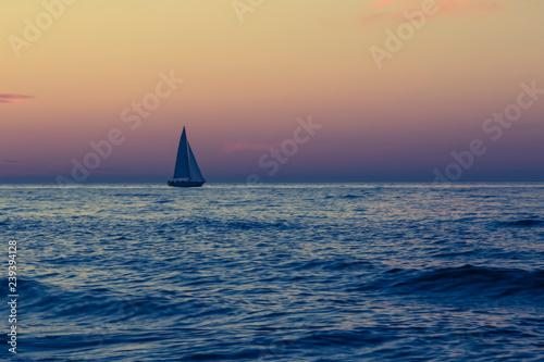 Montage in der Fensternische Rosa I am sailing
