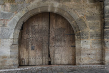 Door In The Bastion Of Rothenb...