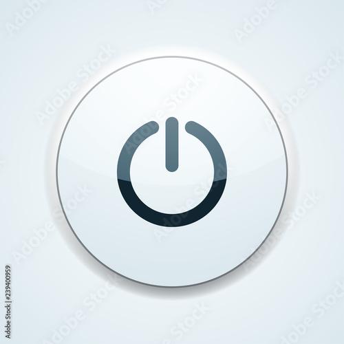 Fotografía  Power button illustration