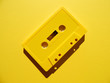 canvas print picture Yellow Cassette