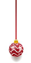 Burgundy Christmas Ball Decora...