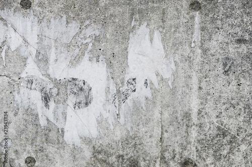 Photo  汚れたコンクリートの壁