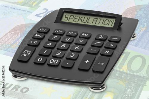 Fotografía  TASPP Tischrechner EURO Spekulation