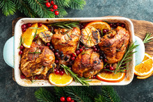 Christmas Turkey Legs Baked Wi...