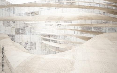 Fotografía  Abstract interior of concrete