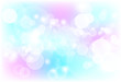 Blurry bubble magic blink sparkle pastel abstract background vector illustration
