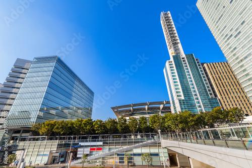 さいたま新都心の高層ビルディング Fototapete