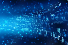 Binary Code Abstract Technolog...