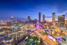 Atlanta, Georgia, USA Dawn Skyline