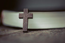 Cross With  Book