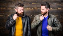 Leather Fashion Menswear. Men ...