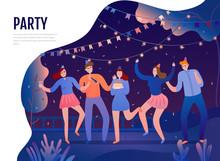 Birth Day Party Illustration