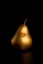 Golden Pear Isolated