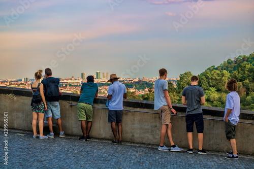 Prag, Aussichtsterrasse