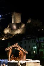 Castello Presepe Notturna