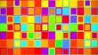Colorful Crazy Squares Abstract VJ Loop Backgound