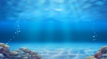 Underwater Landscape. Realisti...