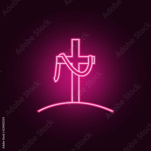 Fotografía the cross of Jesus icon