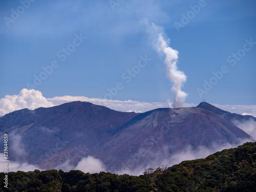 Zdjęcie XXL Vulkan Turrialba w Kostaryce