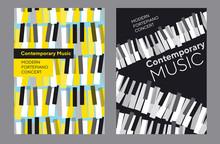 Bright Poster Set For Piano Mu...