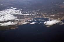 Vista Aérea De Gibraltar Y La...