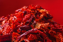 The Texture Of The Dried Hot C...
