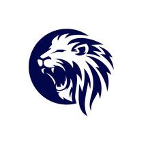 Roaring Lion Logo Template Design