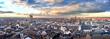 canvas print picture - Luftbildaufnahme der Stadt Bonn mit Stadthaus