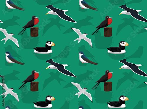 Cuadros en Lienzo Random American Birds Wallpaper 6