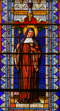 Saint Clare Of Assisi - Staine...