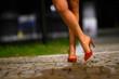 scarpa Decollette da donna con tacco alto