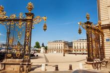 Golden Gates To Place Stanislas, Nancy, France