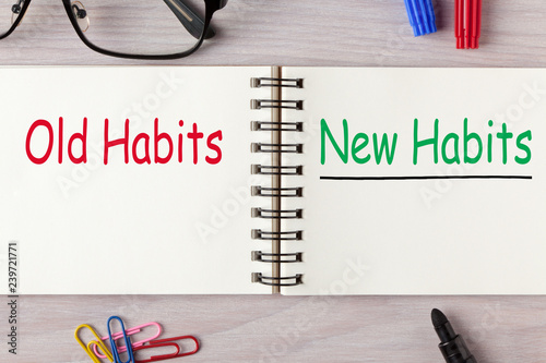Fotografia  New Habits vs Old Habits