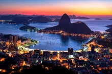 Rio De Janeiro Just Before Sun...