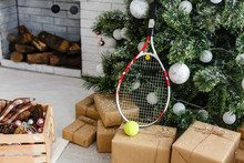 Christmas Tree With Sport Styl...